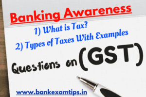 GST Questions & Answers PDF Free | Goods & Services Tax MCQs
