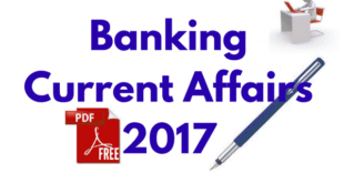 Banking Current Affairs 2017 Pdf Free Download