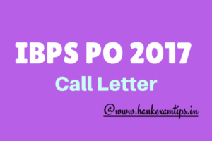 IBPS RRB PO Mains Call Letter