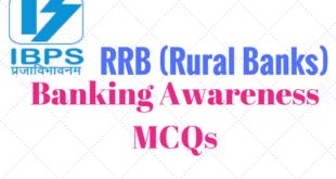 IBPS RRB Banking Awareness GK