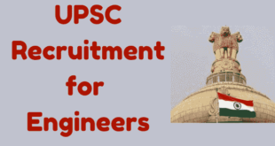 UPSC Recruitment 2017 for Engineers
