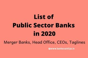 banks headquarters and taglines pdf 2020