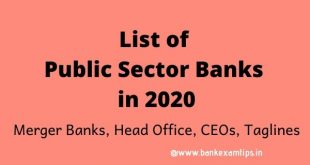 banks headquarters and taglines pdf 2020