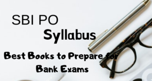 SBI PO Syllabus 2019 and Best Books for SBI PO Preparation