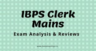 ibps clerk 2020 main exam analysis