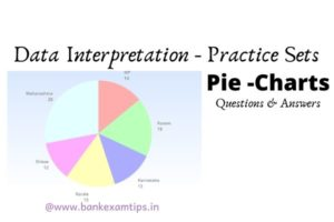 pie chart data interpretation questions and answers