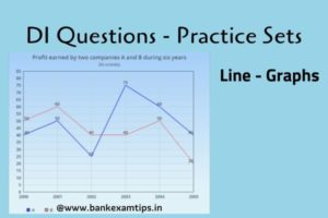line graph Data Interpretation questions and answers