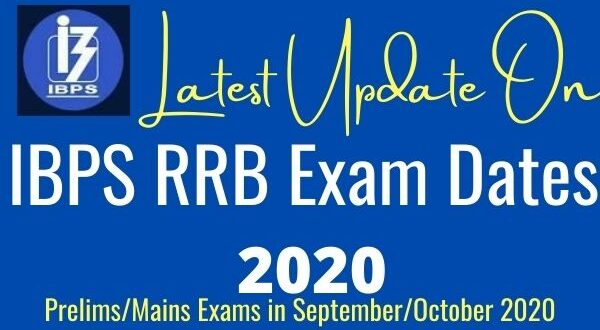 ibps rrb exam dates 2020