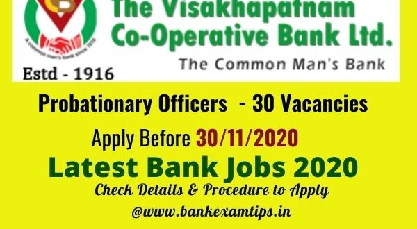Visakhapatnam Cooperative Bank Salary